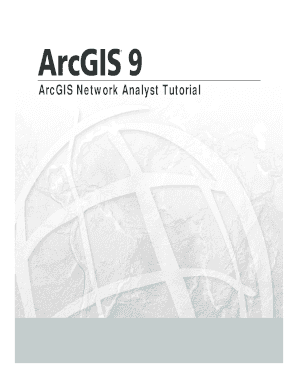 Fillable Online faculty biu ac ArcGIS Network Analyst