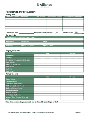 Printable Family Loan Agreement Template Fill Out