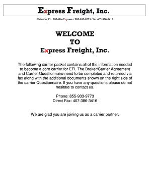 Editable freight broker training script - Fill Out Best Business