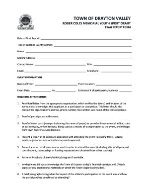 Printable sports sponsorship proposal letter - Edit, Fill