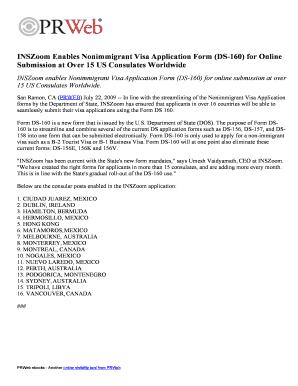 ds 160 nonimmigrant visa application form download