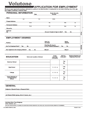 editable free california employment application fill out best