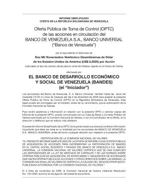 Fillable Online El Banco De Desarrollo Econmico Y Social De