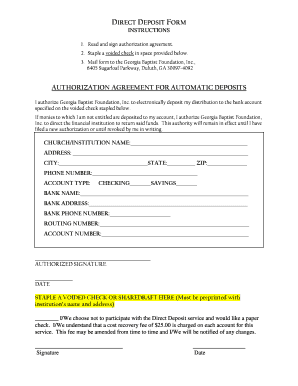 suntrust direct deposit form direct deposit form suntrust - Edit