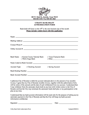 wells fargo voided check - Edit Online, Fill Out & Download Business