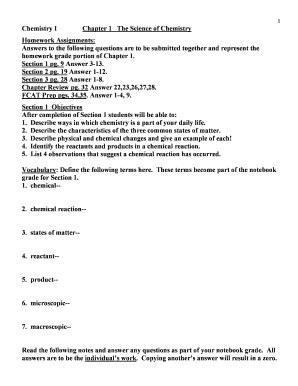 chemistry regents june 2016 answers - Edit & Fill Out Online