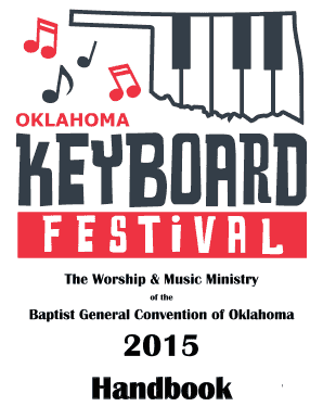 Of the Baptist General Convention of Oklahoma 2015 Handbook