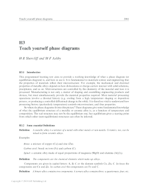 H3 Teach yourself phase diagrams - Paglione Research Group
