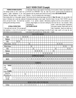 Daily Medication Chart Template Fillable Printable Online Forms