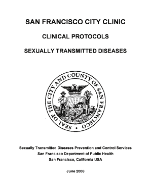 Sexually transmitted diseases nhsra