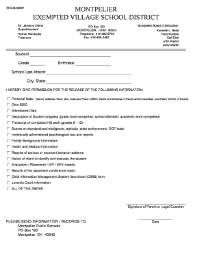 Printable Iep forms ohio - Fill Online & Download in PDF ...