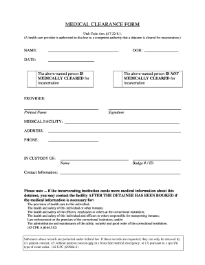 Printable medical clearance forms - Edit, Fill Out & Download Forms on printable medical examination form, printable dental clearance form, printable medical consent form, medical history form, criminal background check form, doctors clearance form, printable veterinary dental charts, printable medical leave form, printable medical insurance form, medical clearance for surgery form, dental medical release form, dental medical clearance form, printable nursing assessment forms, physical form, stent for surgery clearance form,