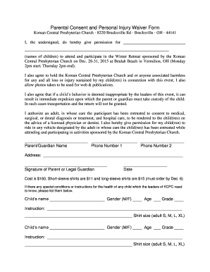 Personal injury waiver form - Fill Out Online Documents for Local ...