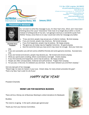 HAPPY NEW YEAR - Altrusa
