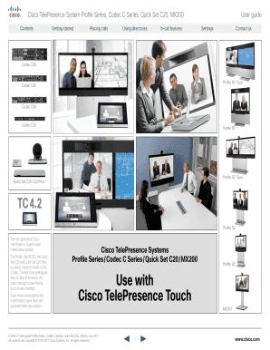 Cisco telepresence mx200 user guide.