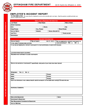 ems incident reports form