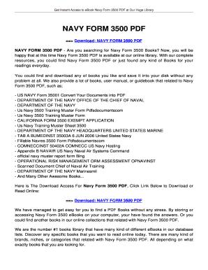 form 3500 Fillable Online jansbooks NAVY FORM 3500 PDF - jansbooksbiz Fax ...