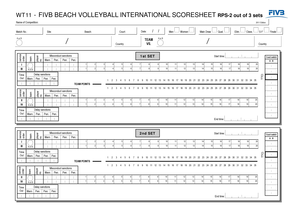 wt11 fivb beach volleyball form