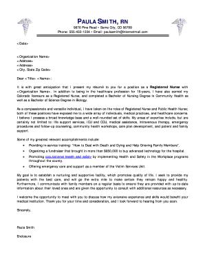 registered nurse cover letter sample cover letter sample - E Mail Cover Letter Sample