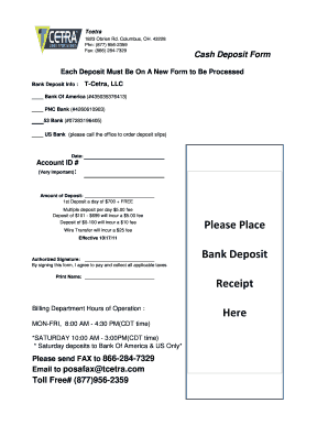 what time does pnc post deposits - Edit & Fill Out, Download
