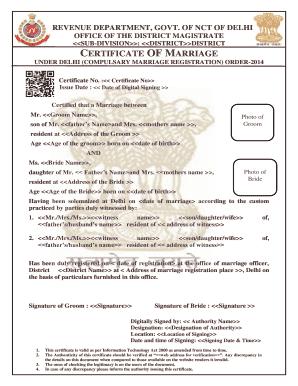 online date for marriage registration delhi