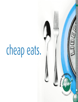 Cheap eats - Money Management International