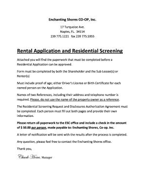 Fillable Online Rental Cover Letter Form 1 Docx Fax Email Print Pdffiller