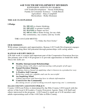 image regarding 4-h Pledge Printable named 4 H Pledge Thoughts Centre Palms Health and fitness - Fill On the web, Printable