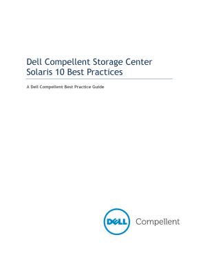Fillable Online Dell Compellent Storage Center Solaris 10