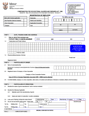 Fillable Online coidstanding co Form - Coid - WAs2