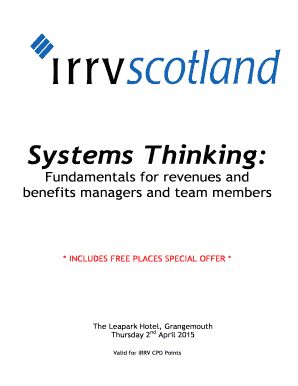 Fillable Online irrvscotland org Systems Thinking - Scotland Fax ...