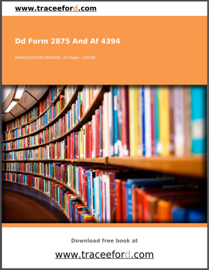 Dd Form 2875 Templates - Fillable & Printable Samples for PDF ...