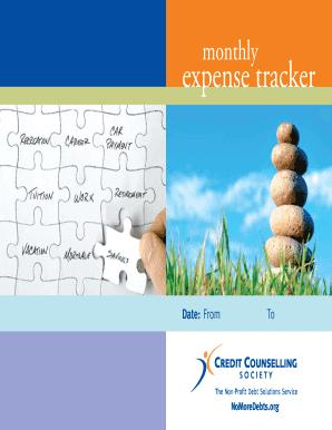 fillable online mymoneycoach expense tracker my money coach