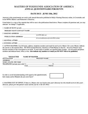 blank survey template word