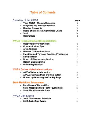 Board Of Directors Ballot Sample