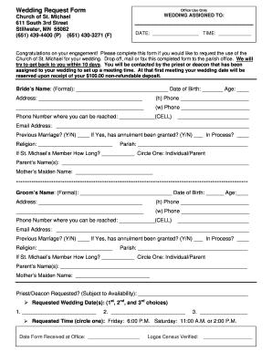wedding engagement letter sample
