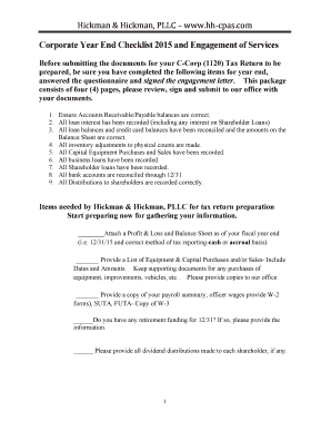 Fillable Checklist For Preparing Shareholder Agreement Edit Print