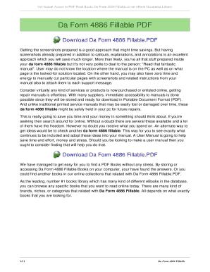 Fillable Online scdingyu Da Form 4886 - scdingyunet Fax Email ...