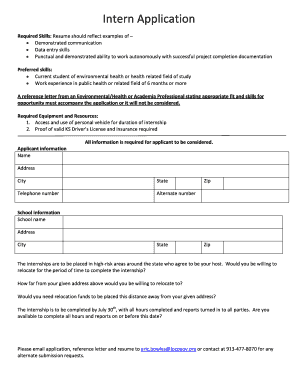 End Of Internship Thank You Letter Examples Edit Print Fill Out