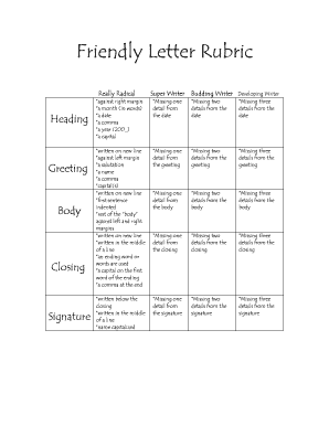 Editable Friendly Letters   Fill Out, Print U0026 Download Forms In Word U0026 PDF  | Cellphoneinquirylettertemplate.com