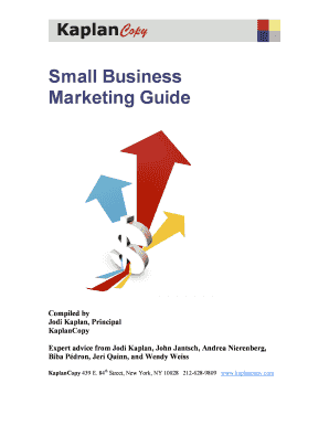 Small Business Marketing Guide - georgettepanncom