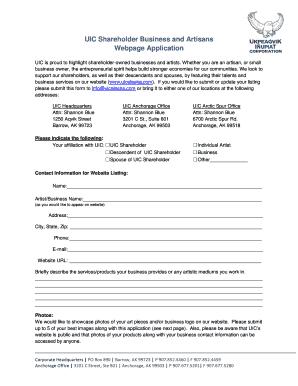 Makeup Artist Disclaimer Form