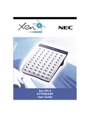 fillable online proof of residency letter fax email print pdffiller rh pdffiller com nec xen ipk ii user guide nec elite ipk ii user guide