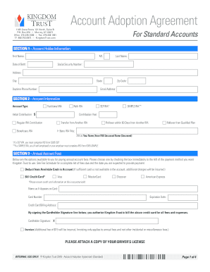 Self Directed Ira Fidelity >> Editable simple trust agreement form - Fillable & Printable Online Forms to Download in Word ...