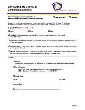 Fillable membership renewal letters for nonprofits edit online membership renewal letters for nonprofits corporate membership form 2013 14 altavistaventures Choice Image