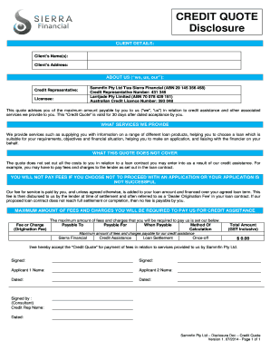 Personal Loan Proposal Template Edit Online Fill Print