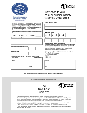 Our guide to setting up direct debit instructions clear direct debit.