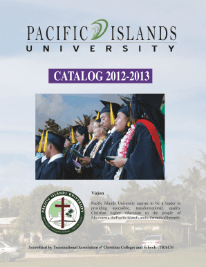 Pacific Islands University aspires to be a leader in