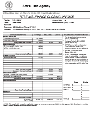 Insurance Invoice Template | Editable Insurance Agency Invoice Template Fill Out Print