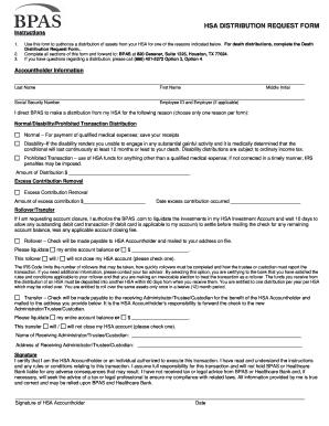 What is HSA Form 1099-SA? | HSA Edge |Hsa Distribution Form